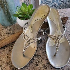 Kenneth Cole Kitten Heel Sandals
